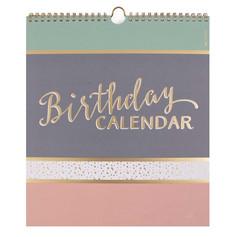 Artebene Birthday Calendar £10.99
