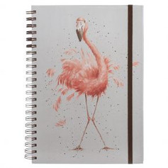A4 Flamingo Lined Notebook £9.99