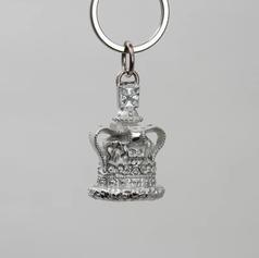 Pewter Crown Keyring £13.99