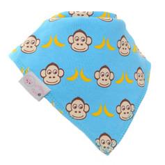 Multi Monkeys Dribble Bib £3.99