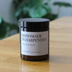 Handmade in Harpenden Black Fig & Vetiver Candle