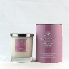Pink Pepper & Plum Candle £21.99