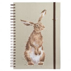 A4 Hare Lined Notebook £9.99