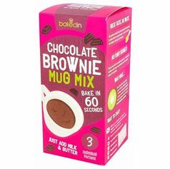 Set of 3 Chocolate Brownie Mug Cakes £4.99