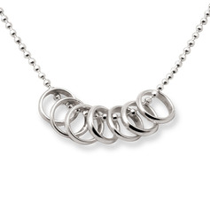 Tales From the Earth Lucky Seven Rings Necklace £37.99