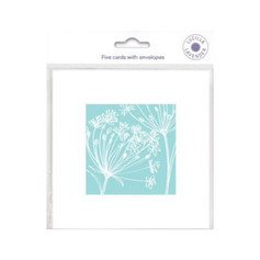Lucilla Lavender Turquoise Notelets £3.60