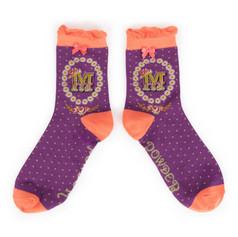 Alphabet Socks: 'M' £7.99