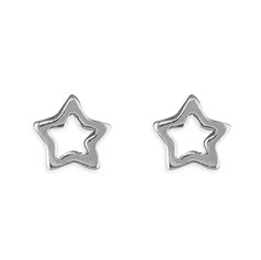 CME Open Tiny Star Studs £9.99