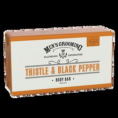 Thistle & Black Pepper Body Bar £6.99