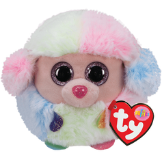 TY Rainbow Poodle Puffie £3.75