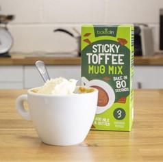 Set of 3 Sticky Toffee Pudding Mug Cakes £4.99