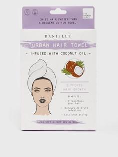 Turban Hair Towel with Coconut Oil £8.99