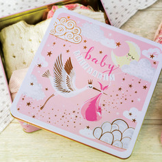 Pink Baby Keepsake Tin £12.50