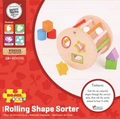 Rolling Shape Sorter £14.99