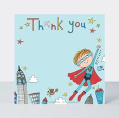 Rachel Ellen Superhero notecards £4.50
