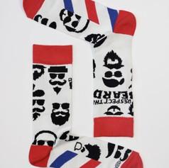 Respect the Beard Bamboo Socks £6.99