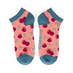 Cherry Trainer Socks £6.99