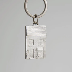 Pewter House Keyring £13.99