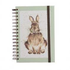 A5 Hare Lined Notebook £6.99