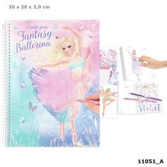 Top Model Fantasy Ballerina colouring book £9.99