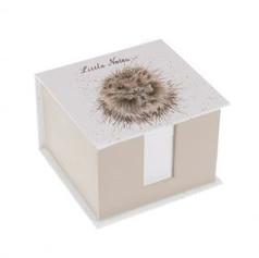 Little Notes Hedgehog Memo Block £12.50