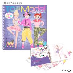 Top Model Dance Dress Me Up sticker book £4.99