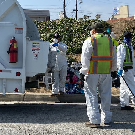 Centinela Gets a Clean-Up