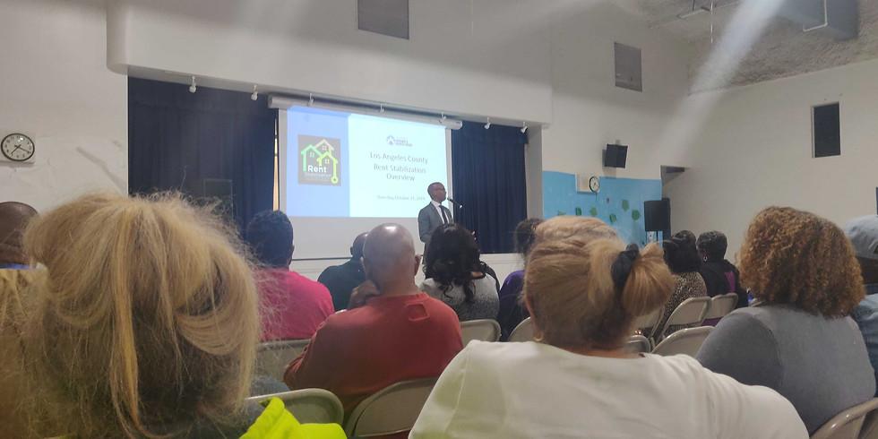 Ladera Heights Community Meeting