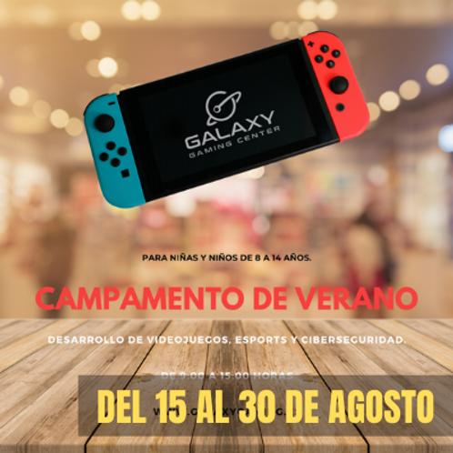 Campamento de Verano / 15 a 30 Agosto Presencial