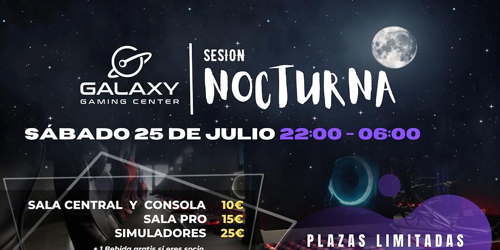 Sesión Nocturna 25/07 - Galaxy Gaming Center