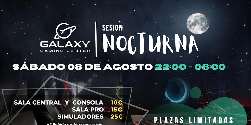 Sesión Nocturna 08/08 - Galaxy Gaming Center