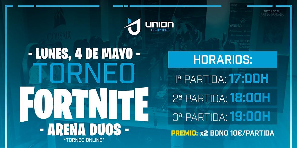 Torneo Fortnite Dúos - Unión Gaming