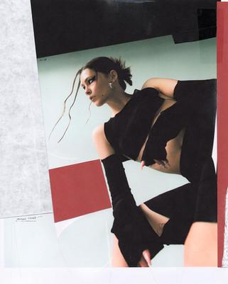 @evgenianirkawearing Nensi Avetisian fw20 tops and sleeves photographed by @savemymind styled by@valnikolskayamua@farizarodriguez