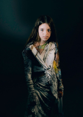 photographer Vlad Molodez stylist Tali Rutman mua&hair Olya Vasileva dress Nensi Avetisian