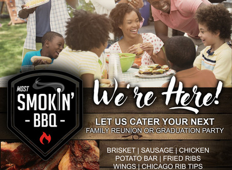 Let Us Cater Your Family Reunion or Graduation Party!