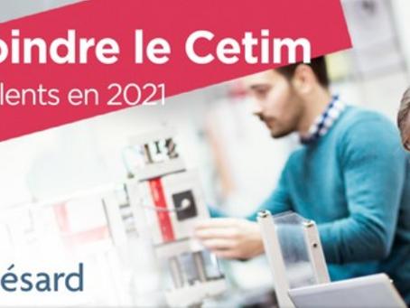 Rejoindre le CETIM                                       200 talents en 2021