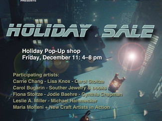 Group show: Holiday pop-up shop at the Envoy hotel