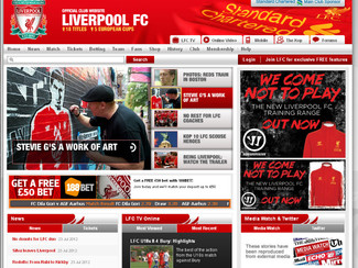 PRESS SPOTLIGHT: LiverpoolFC.com