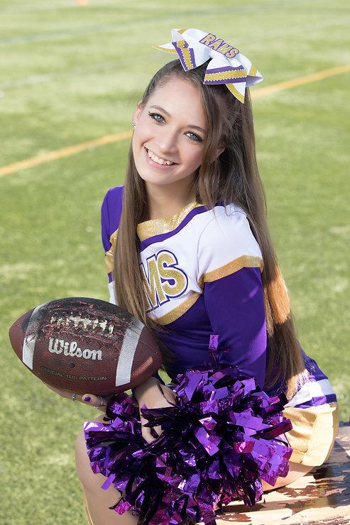 Clarkstown North Cheerleader