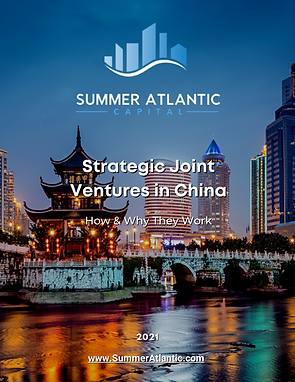 First Page of Strategic Joint Ventures i