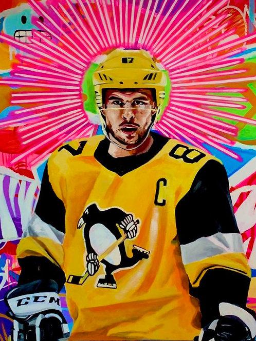 Sidney Crosby Halo Print