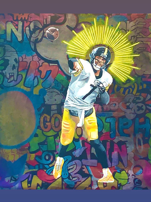 Big Ben Halo Cody Original Painting