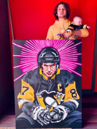 Sidney Crosby Cody Original Painting