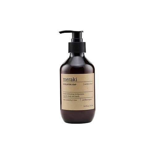 Meraki exfoliating soap, Nothern Dawn