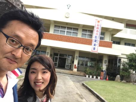 八重山商工高校にて講話&ワークショップ開催してきました!