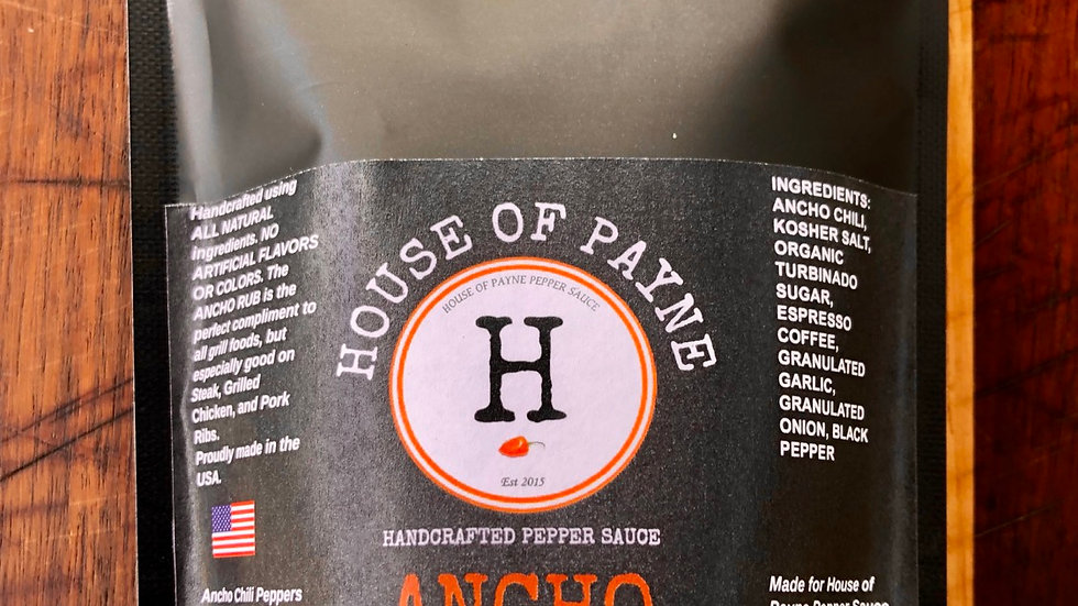 ANCHO COFFEE RUB