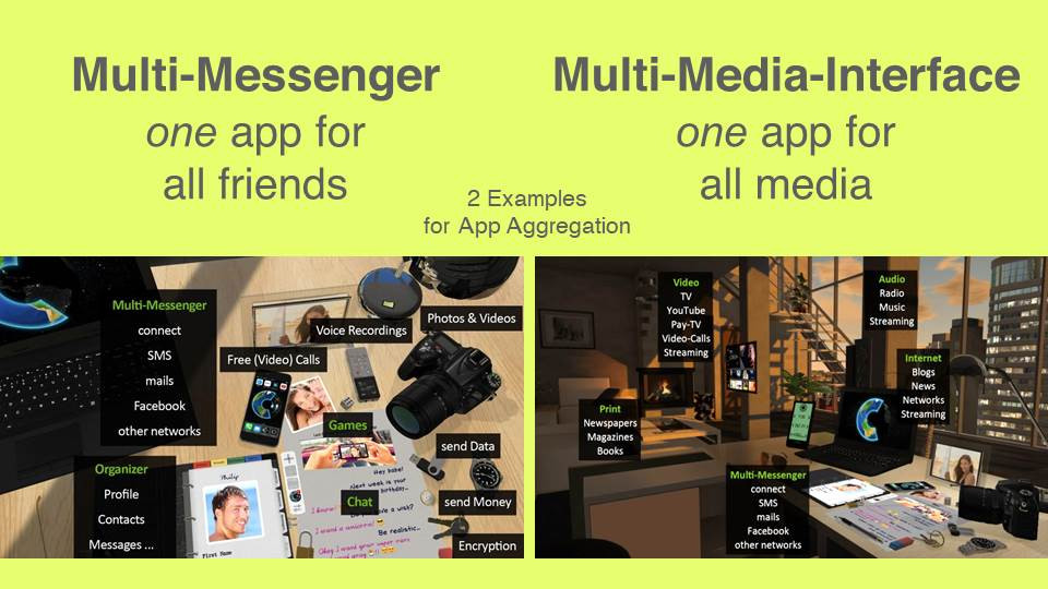 Multi-Messenger & Multi-Media