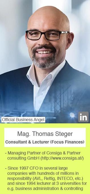 Mag. Thomas Steger