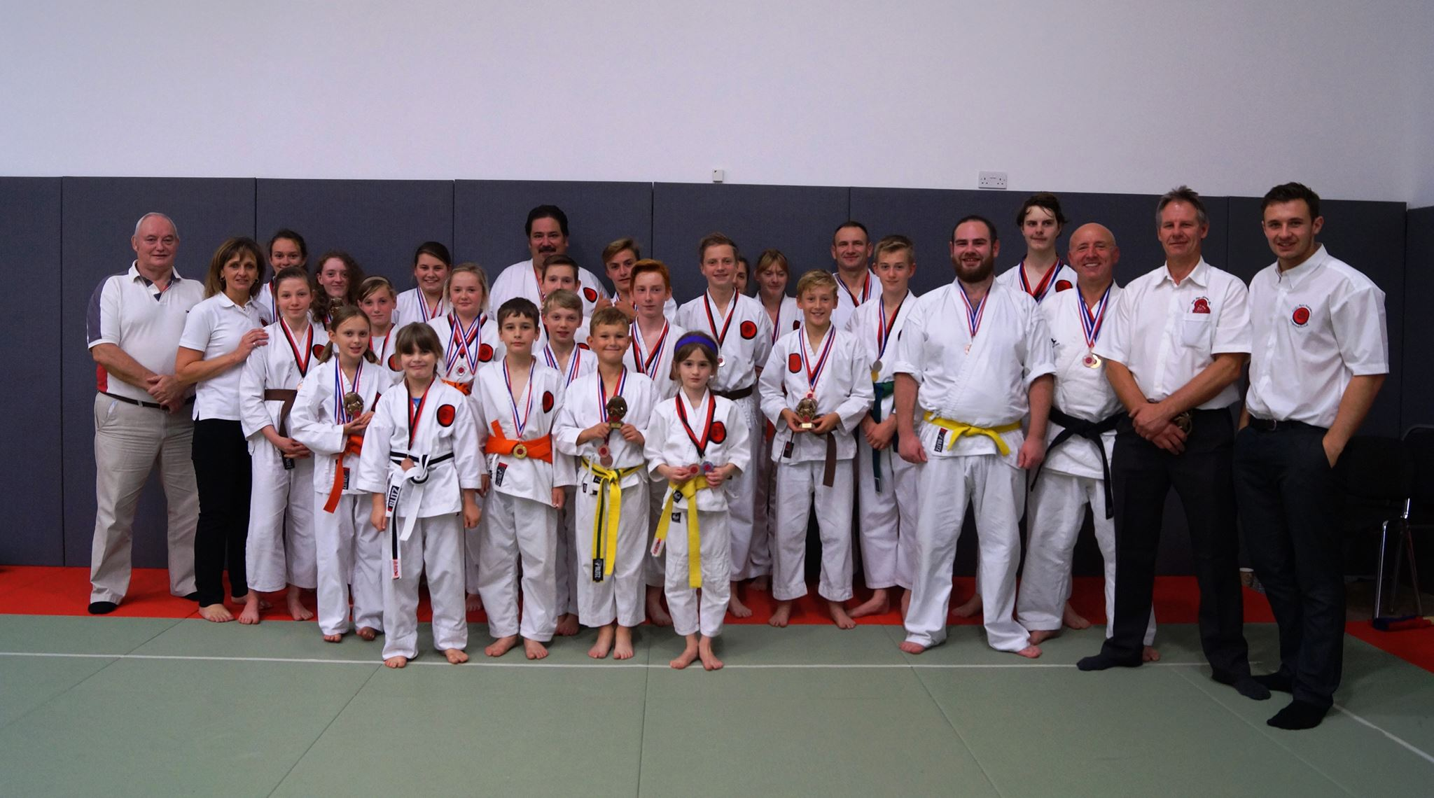 Chichester Karate club team photo