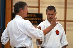 Alan training at Chichester Gasshuku